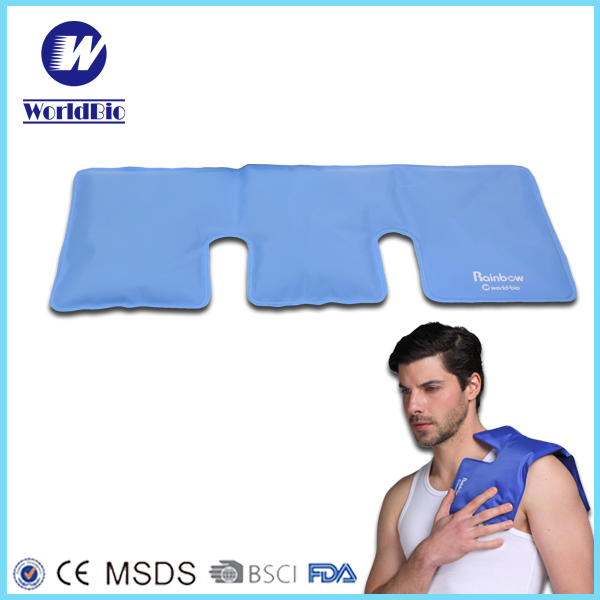 Reusable Gel Hot Cold Pack With Velboa Pocket For Health Medical