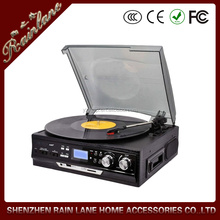 ce/rohs/fcc bluetooth mini Turntable Player MP3 recorder