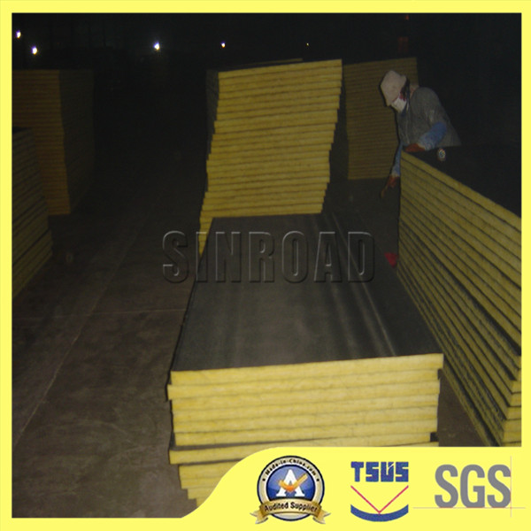 Glass Wool Board With Black Cloth