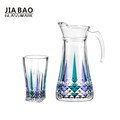 7pcs 1.5L drinking juice water glass jug set