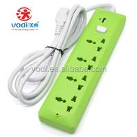 Power Strip/3 Pin US Electric Extension Socket/4 Outlet Power with USB