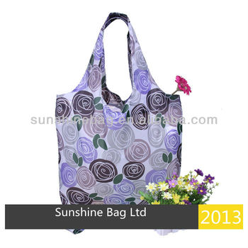 2013 hot selling Beach bag with printing