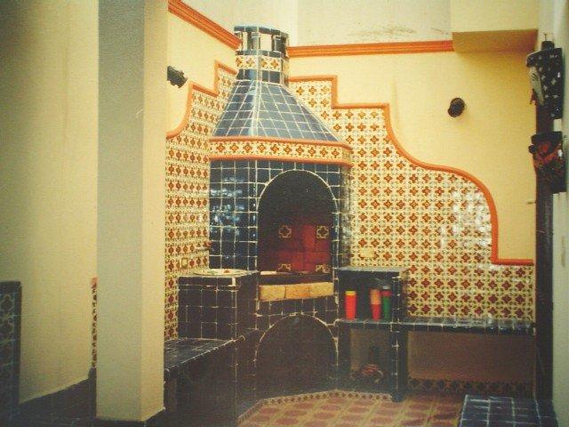 Ejemplo parrilla de talavera azulejos estilo mexicano for Pisos baratos en talavera