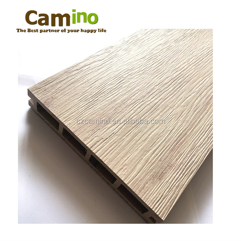 camino colourmix white <strong>oak</strong> wood decking exported to Peru