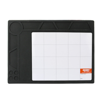 New Design by heat insulation material magnetic tool esd silicon mat for maintenance workshop