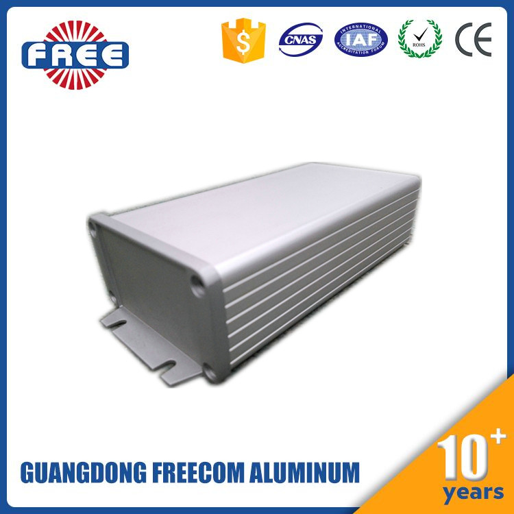 Customized Aluminum Extrusion Enclosure for Electronic /Aluminum Profile LED Driver Box