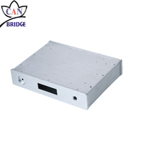Customized oem cnc milling machining die casting aluminum enclosures / box / case for electronic