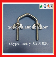 carbon steel/stainless steel bolt u bolt wing bolt ISO pass