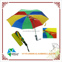 special design color metal frame folding umbrella