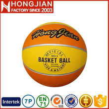 HB011 Size 7 / 6 / 5 official size and weight basketball as gift
