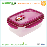 Best selling microwavable freezer safe vacuum food storage container
