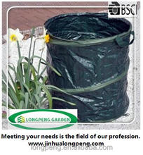 Heavy Duty Large Pop Up Garden Bag Waste Weeds Leaves Bin Cutting Sack Carry Bag