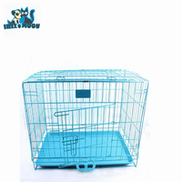 High Quality Overstriking Stainless Steel Popular Dog Folded Cage
