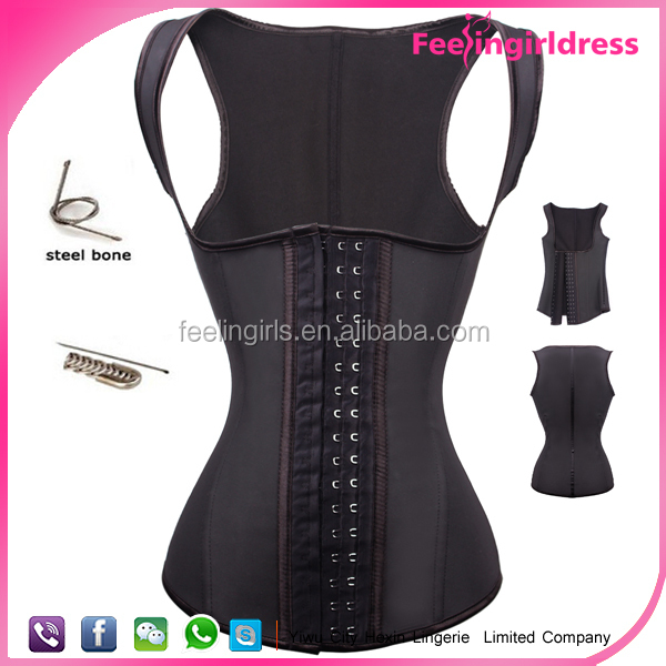 Black online shopping in stock high quality strap women hot sex corset xxl
