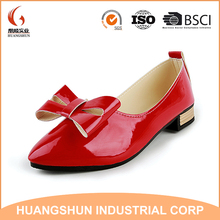2017 Pu Upper New style Bowknot Heel Women shoes