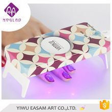 2017 Professional Mini LED UV Lamp Manicure Foldaway Personal 9W nail lamp