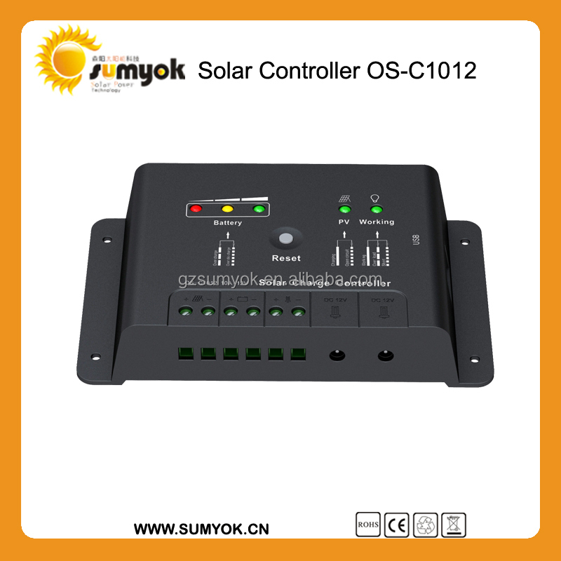 Hot auto 12V manual pwm 100A solar controller