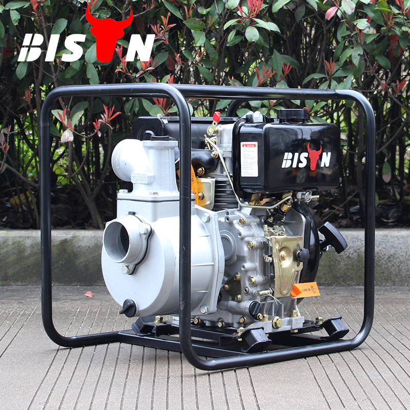 BISON(CHINA) Factory Direct Sale 3 inch 25m Lift Farm Irrigation Portable Diesel Water Pump Dealers In Kenya