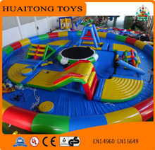 colorful interesting inflatable floating water park,water park rides for sale