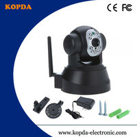 home security wireless ip camera,low price P2P CMOS 300,000 pixels Audio:two-way P/T:H 270 V 90,RPM:15