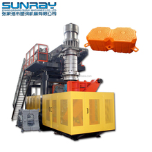Making Plastic Pontoon Cube Double Float making machine Floating Dock Blow Moulding Machine