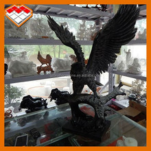 Hand carved granite and marble statue type indoor decorative eagle statues for sale