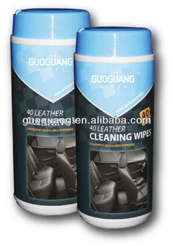 Car wipes set: disinfectant and polishing-for interior,dashboard cleaing,wheel