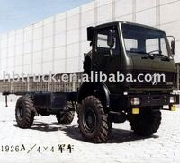 4*4 all-wheel drive Northbenz military vehicle