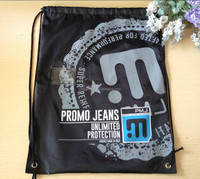 Factory wholesale reusable promotional Polyester Laundry Bag