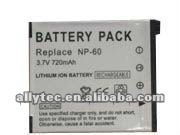 3.7V Li-ion Replacement Digital Camera Battery for Casio NP-60