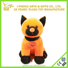 Happy Halloween stuffed cat plush toy for Halloween gifts