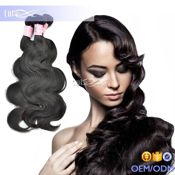 2016 6A Hot Selling Product New Arrival 100% No Chemical Virgin Peruvian Body Wave Human Hair Weaves Pictures