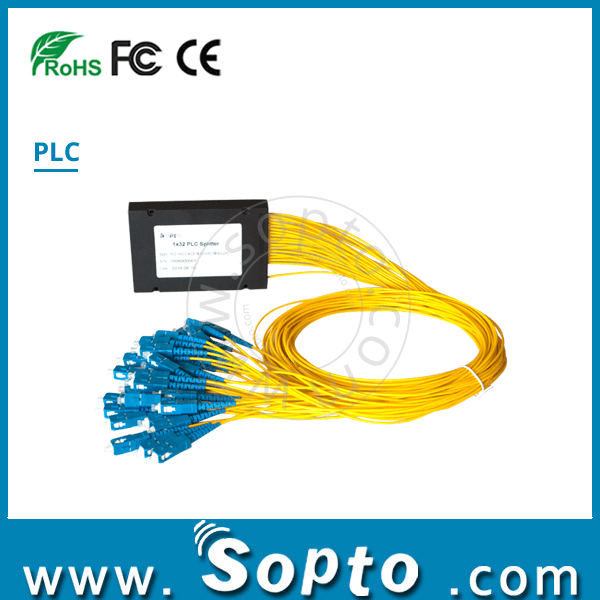 Optic Fiber Splitter Price SC APC PLC Splitter