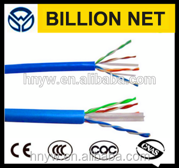 CAT6 1000 UTP Solid Conductor Cable 23AWG LAN Network Ethernet RJ45 Wire Blue