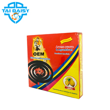 OEM Factory Indoor Mosquito Killer Smokeless China Black Mosquito Coil Manufacturers