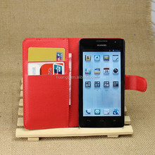 for huawei ascend g526 case, Litchi Design With Credit Card Sltos Wallet Stand Flip leather case for Huawei Ascend G526