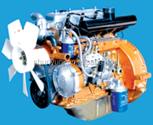 YANGDONG YSD490T diesel engine for 40HP compact tractors