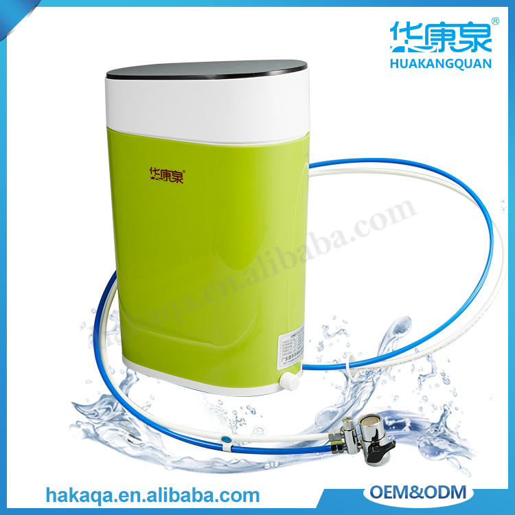 Household countertop 6 stages uf water purifier system alkaline portable water filter machine without electricity