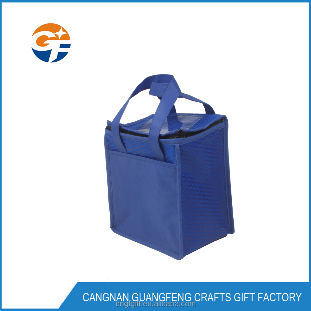 Promotional Non Woven Cooler Bag, Factory Price For Picnic Use