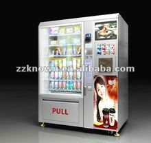 High Capacity Snack Vending Machine use in street