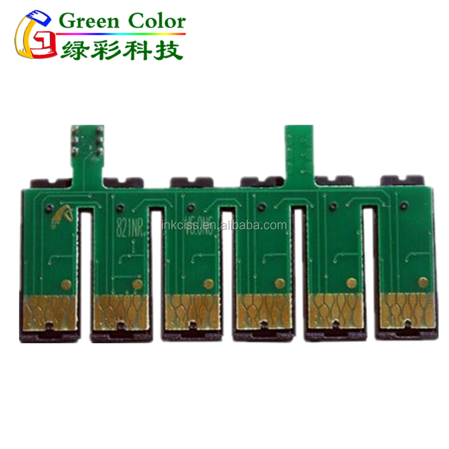 High quality T0821N-T0826N Auto reset chip for Epson Stylus Photo T50 r270 R290 R390 R590