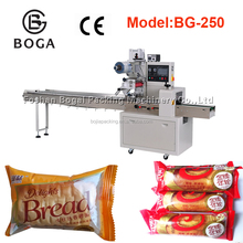 automatic bread packaging machine rotary flow packing machine