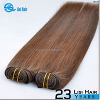 New Beauty Golden Supplier Top Quality No Shedding No Tangle Remy Human Hiar weave #30 color