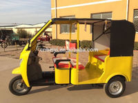 5 seats cab taxi 3 wheel tricycle passenger motor 200cc/250cc/300cc water cooling cabin taxi tricycle for adult