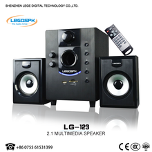2.1 cheap professional computer speaker with home theater system music system active pa speaker with sd usb fm remote