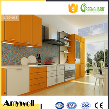 Amywell New design durable orange 12mm waterproof compact formica hpl furniture
