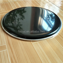 Wholesale PET Material Black Color 0.188mm Drum Heads/Drum Skin