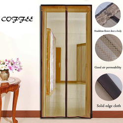 Promoting the spring bamboo magnetic anti-mosquito door curtain