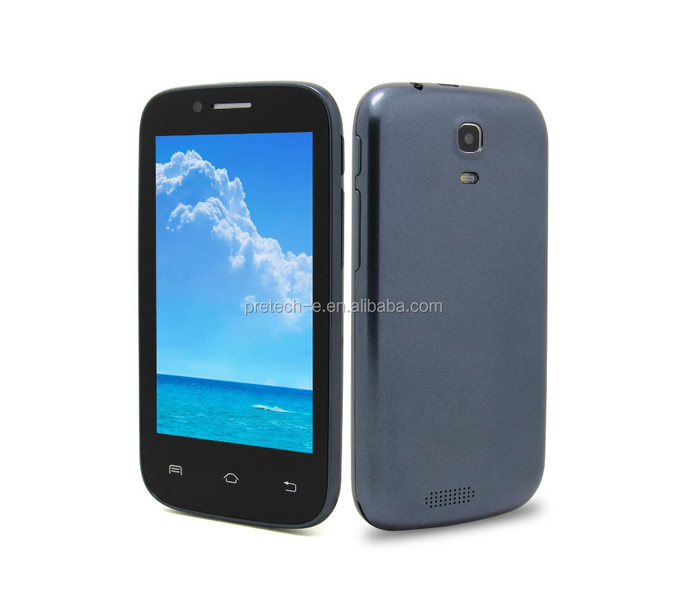China best price MTK6572 dual core FM BT android 4inch 3G smartphone