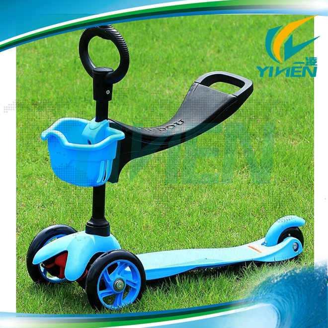 3 in 1 mini micro scooter, baby kick scooter